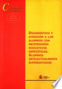 Diagnóstico y atención a los alumnos con necesidades educativas específicas