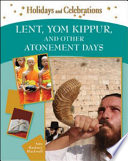 Lent  Yom Kippur  and Other Atonement Days
