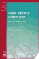 Mind Versus Computer