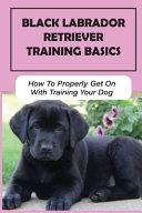 Black Labrador Retriever Training Basics