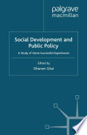 Social Development and Public Policy