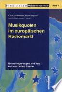 Musikquoten im europäischen Radiomarkt
