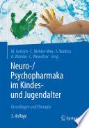 Neuro  Psychopharmaka im Kindes  und Jugendalter