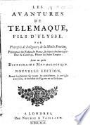 Les Avantures de Télémaque, fils d'Ulysse ... Nouvelle édition. [With engraved plates.]