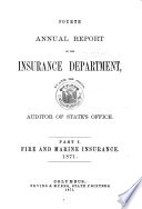 Annual Report of the Insurance Department Book PDF