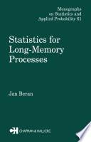 Statistics for Long Memory Processes