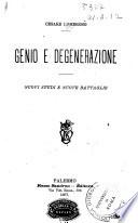 Genio e degenerazione