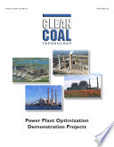 Power Plant Optimization Demonstration Projects