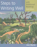 Steps to Writing Well with Additional Readings  with 2016 MLA Update Card