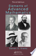 Elements of Advanced Mathematics  Third Edition