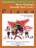 Alfred's Basic Piano Library - Merry Christmas! Ensemble Book, Level 2