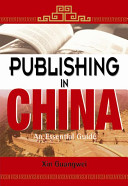 Publishing In China book