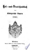 Hof- und Staats-Handbuch des Königreichs Bayern