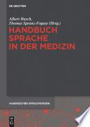 Handbuch Sprache in der Medizin