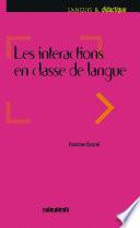 Les int  ractions dans l enseignement des langues