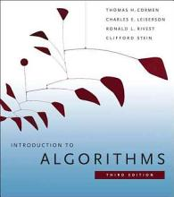 Introduction to Algorithms [Book]