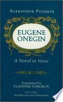 EUGENE ONEGIN   A NOVEL IN VERSE V 1