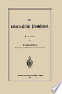 Das völkerrechtliche Protektorat