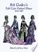 80 godey s full color fashion plates