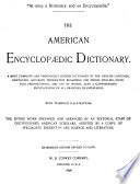 The American Encyclop Dic Dictionary
