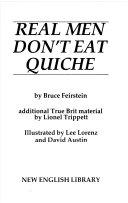 Real Men Don t Eat Quiche