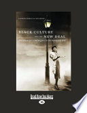Book Black Culture and the New Deal  Large Print 16pt