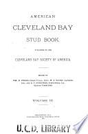 American Cleveland Bay Stud Book book