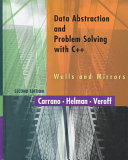Data Abstraction And Problem Solving With C