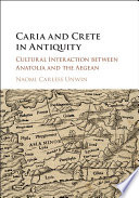 Caria And Crete In Antiquity : island of crete. this central theme...