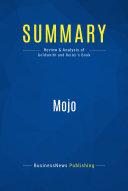 Summary  Mojo Book Mojo How To Get How
