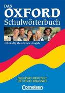 Das Oxford-Schulwörterbuch : Englisch-Deutsch, Deutsch-Englisch