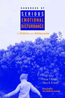 Handbook of serious emotional disturbance in children and adolescents