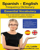 Spanish   English Frequency Dictionary   Essential Vocabulary