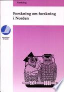 Forskning om forskning i Norden
