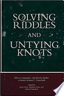 Solving Riddles and Untying Knots