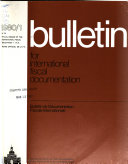 Bulletin de Documentation Fiscale Internationale