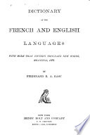 Dictionary of the French and English Languages