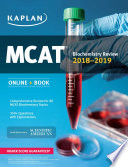 MCAT Biochemistry Review 2018 2019