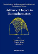 Advanced Topics In Biomathematics book