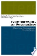 Funktionswandel der Universit  ten