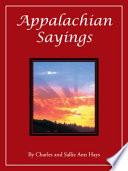 Appalachian Sayings