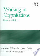 Working in Organisations