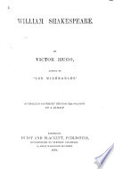 William Shakespeare      Authorized copyright English translation by A  Baillot