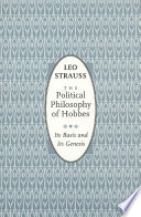 The Political Philosophy Of Hobbes : and innovative in the political philosophy...