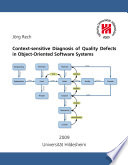 Ebook Context-sensitive Diagnosis of Quality Defects in OO Software Systems Epub Jörg Rech Apps Read Mobile