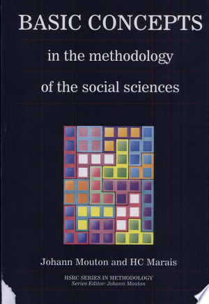 Basic Concepts in the Methodology of the Social Sciences - ISBN:9780796906489