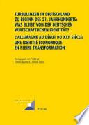 Allemagne au début du XXIe siècle: une identité économique en pleine transformation