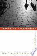 Imagining Transgender book