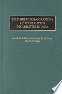 Self Help Organizations Of People With Disabilities In Asia book