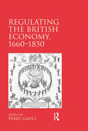 download ebook regulating the british economy, 1660–1850 pdf epub